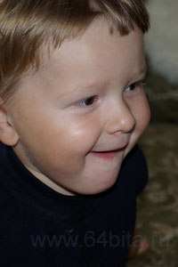 основы фотографии портрет мальчугана