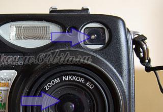 Фотокамера видоискатель незеркальной фотокамеры