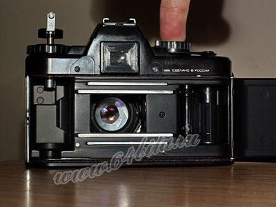 фотоаппарат Зенит затвор