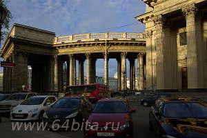 Городской пейзаж. Казанский собор