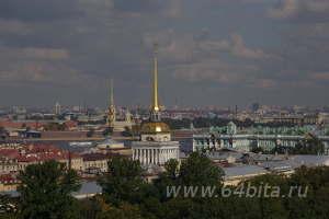 Городской пейзаж. Петербург, Адмиралтейство.